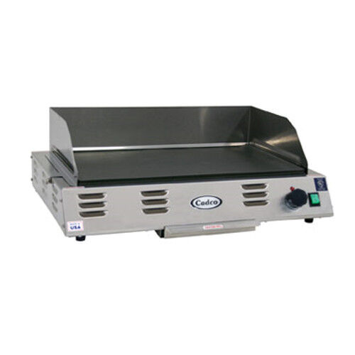 "Cadco Cg-10 Electric 24"" Medium-duty Buffet Countertop Griddle"