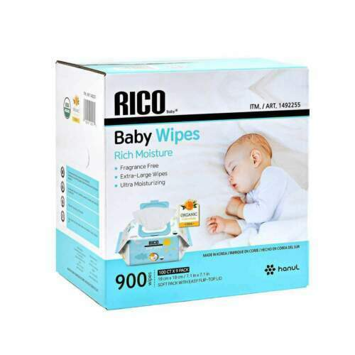 RICO Baby Wipes, 900-count=FREE SHIPPING=