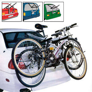CAR CYCLE CARRIER 2 BICYCLE BIKE RACK UNIVERSAL FIT -  SALOON HATCHBACK ESTATE