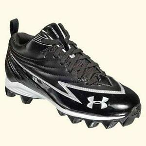 under armour youth football cleats. youth size 3 football cleats under armour