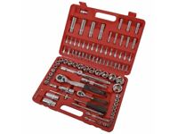 neilsen CT0697 Professional Quality Socket Tool Set - Silver (94-Piece), BRAND NEW, 1 year warranty