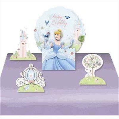 CINDERELLA Dreamland BALLOON CENTERPIECE ~ Princess Birthday Party Supplies Foil