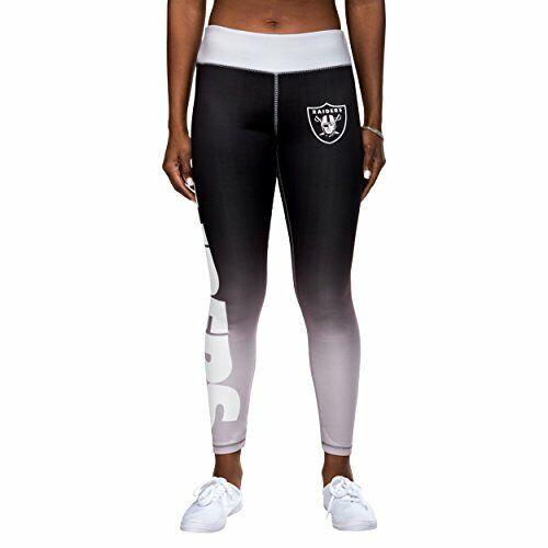 e2c800f1 Forever Collectibles NFL Women's Oakland Raiders Gradient 2.0 Wordmark  Legging