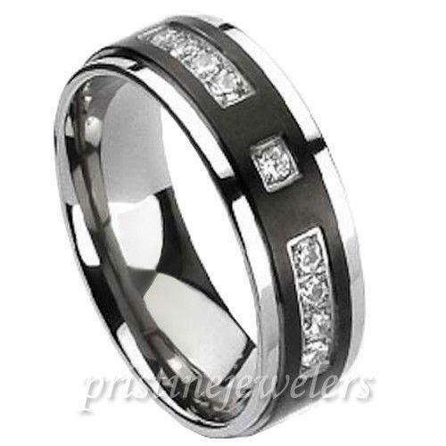 mens wedding bands 8mm ebay