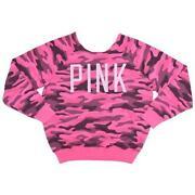Pink Camo Sweatshirt