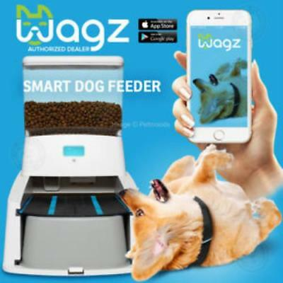 Wagz Smart Automatic Dog Feeder Dog Food Dispenser With Video + Portion Control