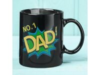 NO1 Dad Colour Changing Mug