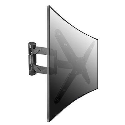 FULL MOTION TV WALL MOUNT BRACKET FOR CURVED TVS 32 36 37 40 42 46 47 50 55
