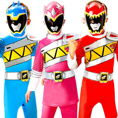 New Dino Charge Power Ranger Fancy Dress Superhero - Dino Ranger Kostüm