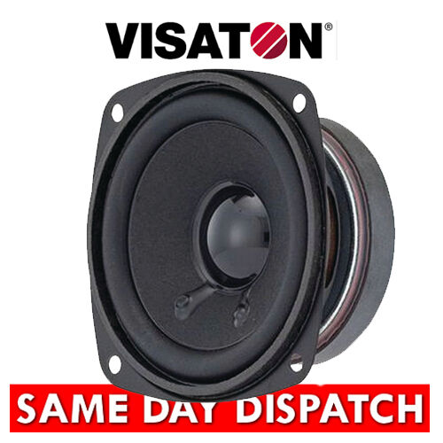 "Visaton Hifi Full Range Speaker 8cm 50W 3.3"" 4 Ohm broadband ( FRS8 art 2003 -4)"