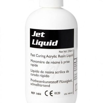 Lang Dental Acrylic Tooth Jet Denture Repair Liquid 118 Ml 4 Oz. - 1403