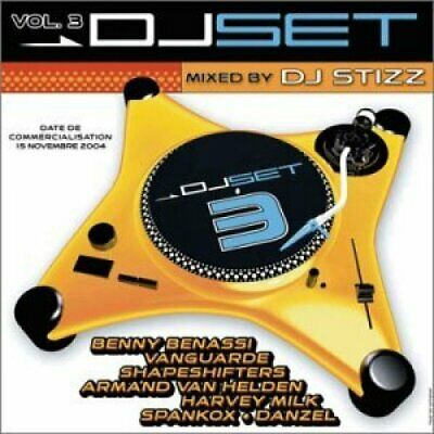 DJ Set 03 (2004, mixed by DJ Stizz) Avantgarde, Shapeshifters, Armand Van.. [CD]