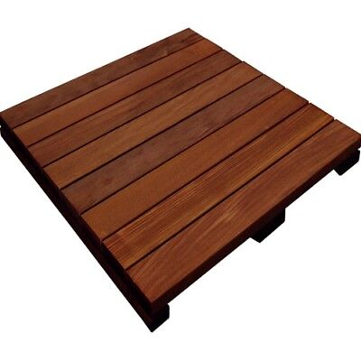 Ipe 24 x 24 deck and patio wood tile ()