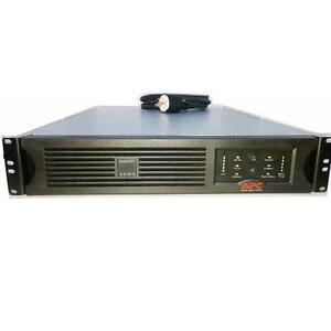 APC Smart-UPS 3000VA UPS - 2250W 120V - Rack-Mountable 3U - NEW BATTERIES - DL3000RM3U
