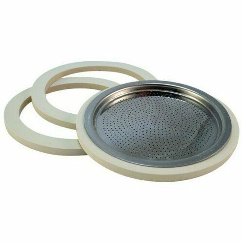 Bialetti Moka Express Replacement Filter/Gasket Set, 3 Cup