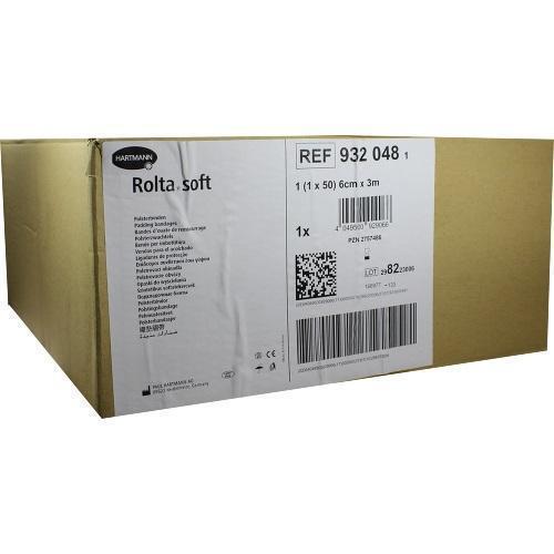 ROLTA soft Synth.-Wattebinde 6 cmx3 m 50 St