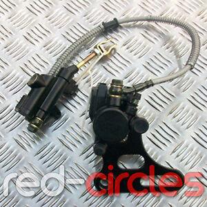 15mm SDG PIT BIKE REAR BRAKE SYSTEM CALIPER BRACKET PADS 150cc 160cc PITBIKE