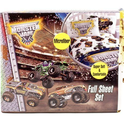 Monster Truck Twin Bed