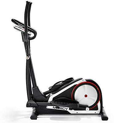 Marcy Onyx C80 Elliptical Cross Trainer with Tablet and Phone Holder - Black/Sil