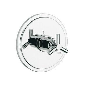 Grohe 19169000 Atrio Thermostat Trim Chrome