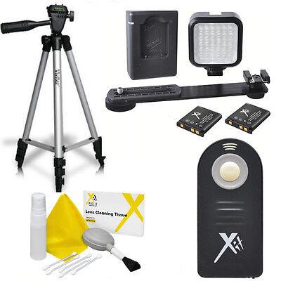 """50"""" Vivitar Tripod + 36 Light Led +ir Remote For Nikon D3..."""