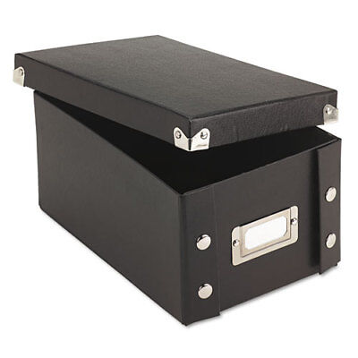 Snap-N-Store Collapsible Index Card File - Internal Dimensions: 6