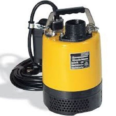 Used, Wacker Neuson PSA2 500 Submersible Pump automatic switch 110V/60HZ, 2/3 HP, 6.1A for sale  Shipping to South Africa