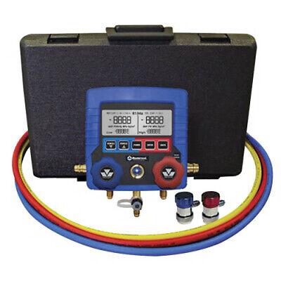 Mastercool 99860-14-a R134a Digital Manifold W3-60 Hoses Couplers