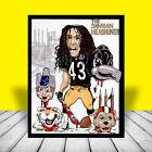 Troy Polamalu NFL Posters