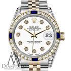 Rolex Datejust Solid Gold Case Luxury Wristwatches