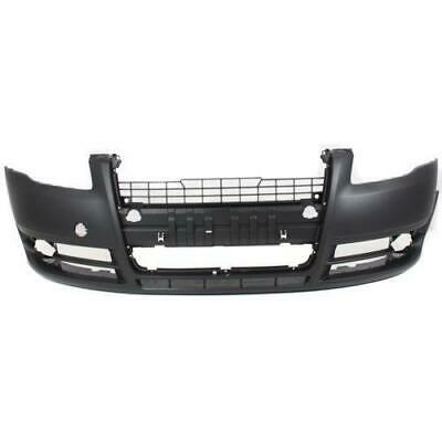 A4/S4 05-09 FRONT BUMPER COVER,Primed,w/o Sport Pkg,w/o Headlight Washer Holes