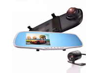 Brand NEW Boxed Dash Cam with reversing camera