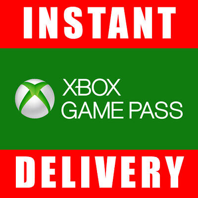 Xbox Game Pass 14 Days Trial Code for Xbox One (2 Weeks) - Instant Dispatch 24/7