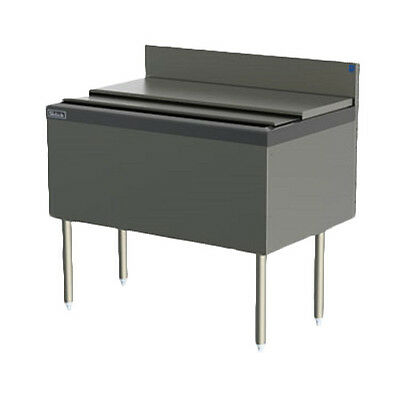 Perlick Tsf48ic 48 Underbar Modular Ice Bin Cocktail Unit
