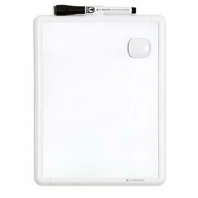 Contempo Magnetic 8.5 X 11 Dry Erase Board White Frame Magnet 8.5 X 11
