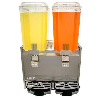 New Cold Beverage Drink Dispenser Bubbler Stainless Steel