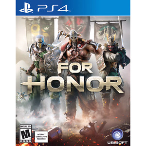 TRADE: For Honor for Resident Evil 7 or Horizon Zero Dawn - PS4