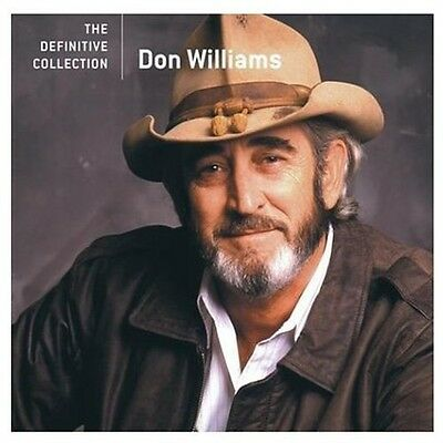 Don Williams   Definitive Collection  New Cd  Don Williams   Definitive Collecti