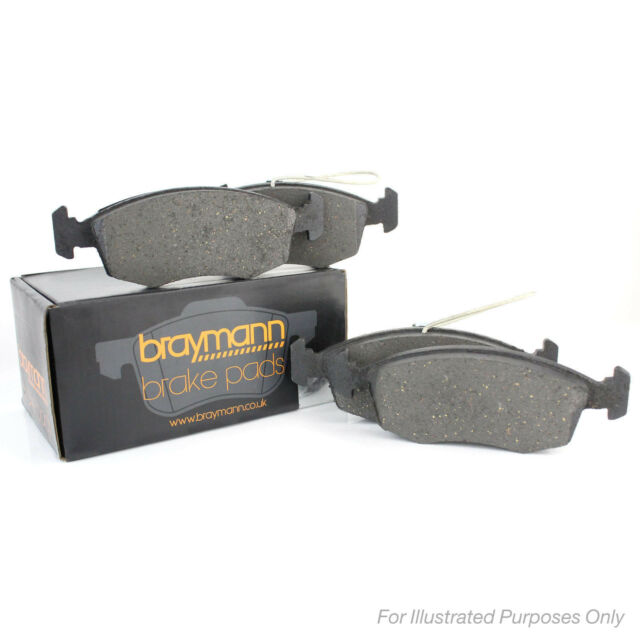 Variant2 Braymann Front Brake Pads Set Genuine OE Quality Service Replacement