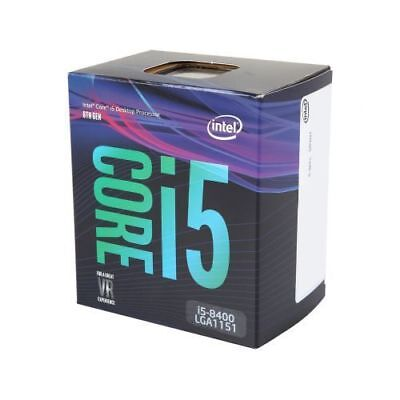 Intel Core i5-8400 6-Core Coffee Lake Processor 2.8GHz 8.0GT/s 9MB LGA 1151 CPU