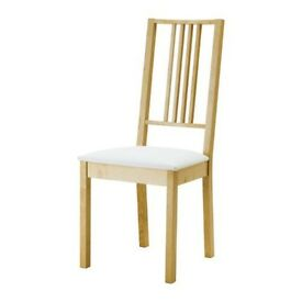 Ikea BORJE Dining Chairs (set of 6)