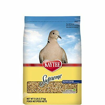 Kaytee Supreme Bird Food for Doves, 5-lb bag(Packaging May Vary)
