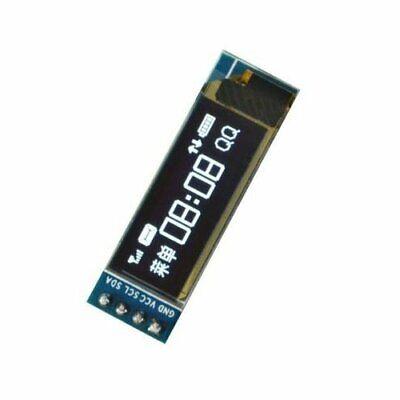 1pcs Iic I2c 0.91 128x32 White Oled Lcd Display Module 3.3v 5v For Arduino