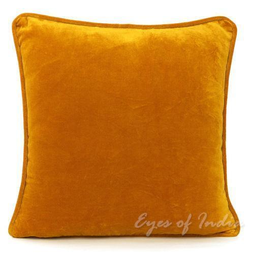 Gold Decorative Pillow Covers : Gold Throw Pillow Covers eBay