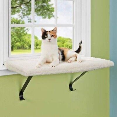 Window Cat Perch Indoor Mounted Hanging Shelf Sleep Cushion Bed