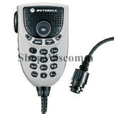 Motorola Oem Rmn5065b Rmn5065 Mototrbo Keypad Microphone With Enhanced Audio