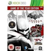 Batman Arkham City Game of The Year Xbox 360