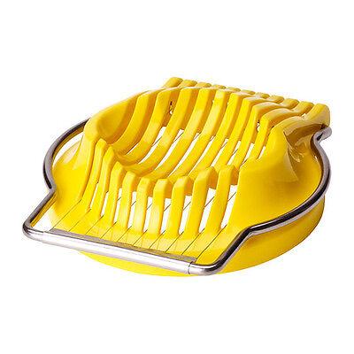 IKEA Egg Slicer Cutter Stainless Steel Easy Cutter Kitchen Boiled Eggs&Mushroom