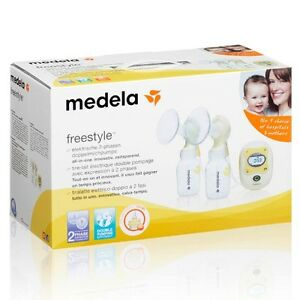 Medela Freestyle Double Electric Breast Pump Cambridge Kitchener Area image 1