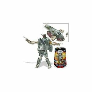 2006 STAR WARS TRANSFORMERS BOBA FETT SLAVE 1